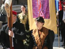 Celebration in Split, Croatia