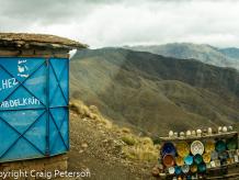 Tizi-n-tichka pass in High Atlas Mountains, Morocco