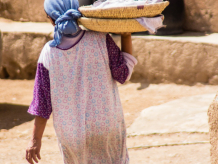 Boulaouane village, rural Morocco