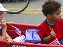 Parade in Evanston, Il